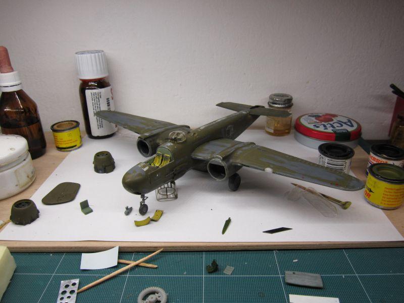 B-25 G Italeri 1/72 restauración IMG_1365