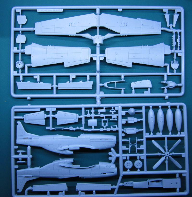 P-51 Airfix 1/72 A01004 - IMG_1699