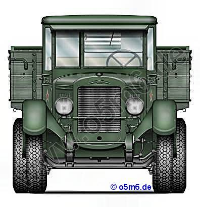 Camion GAZ AA 1/35 ZIS-5Front_small