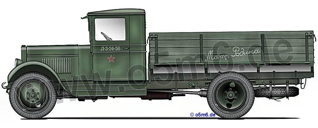 Camion GAZ AA 1/35 ZIS-5_small