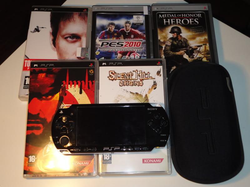 Vendo PSP 3000 + Cartão 2GB + 5 Jogos DSC00827