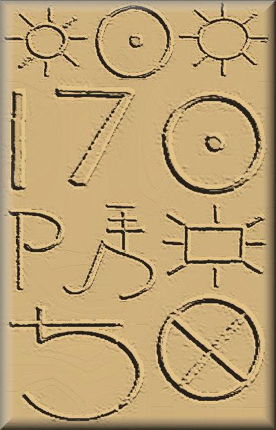 Treasure Code & Sign Sample Part II Kanji-1