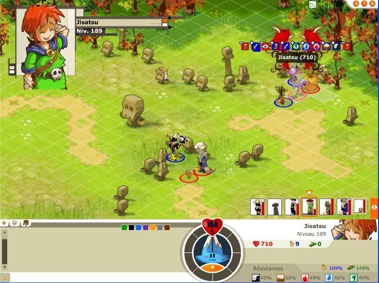 Quelque screen du tournoi ... Jisatsu