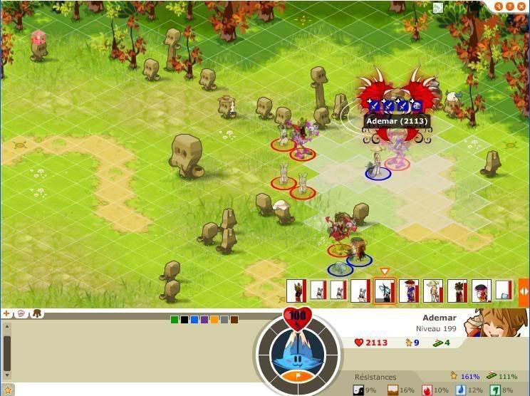 Quelque screen du tournoi ... Ademar