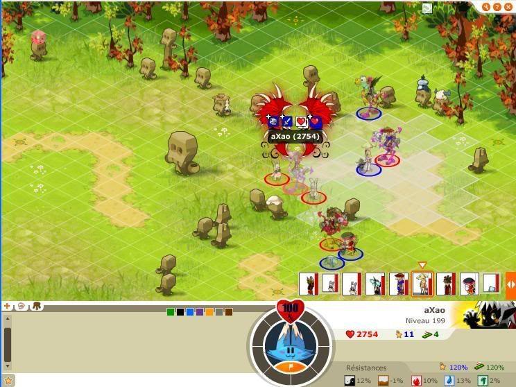 Quelque screen du tournoi ... Axao2