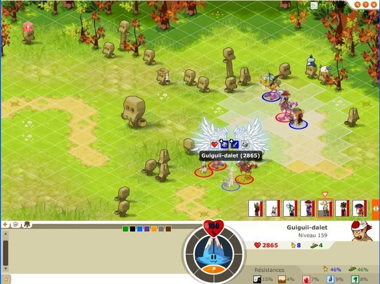Quelque screen du tournoi ... Guigui