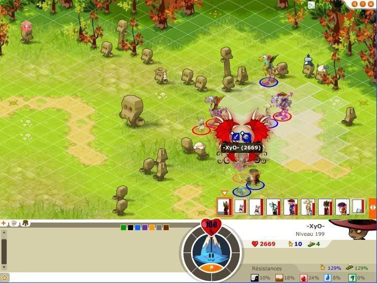 Quelque screen du tournoi ... Xyo