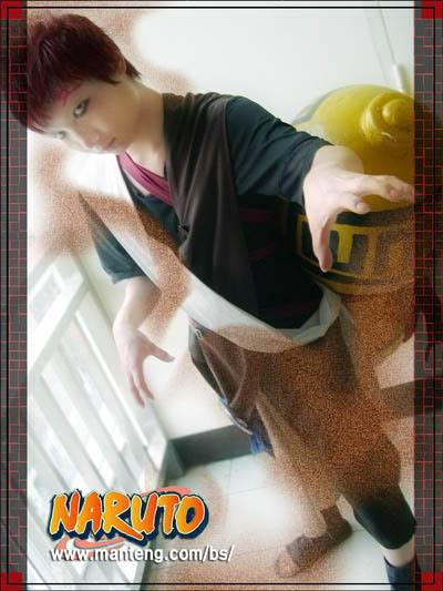 Cosplays de Naruto Gaara