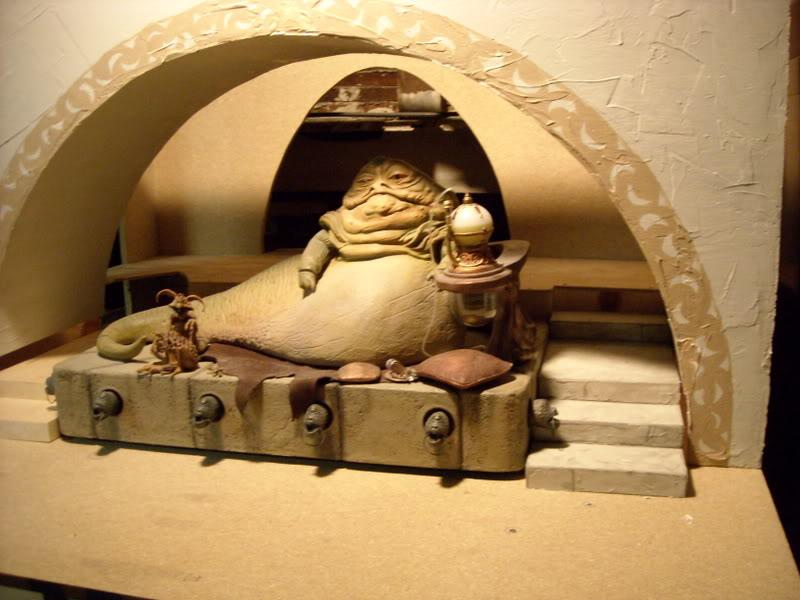 Star Wars Décor Jabba Palace échelle 1/6 - Sideshow DSCN0092