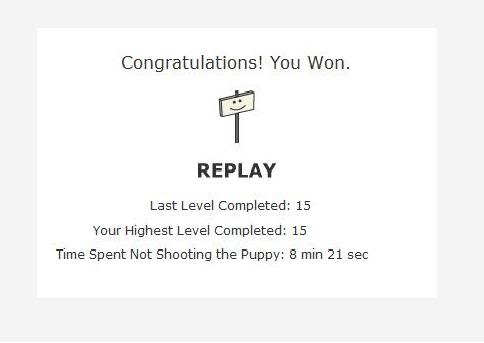 Don't Shoot the Puppy Dontshootthepupp