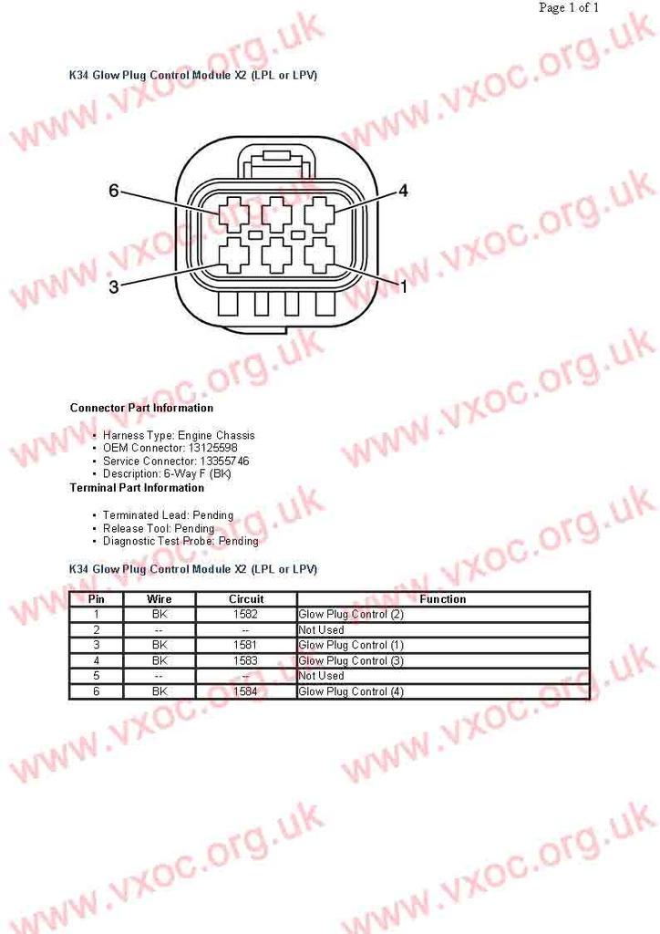 Circuito electrico de módulo de calentadores en 1.7cdti K34%20Glow%20Plug%20Control%20Module%20X2%20LPL%20or%20LPV