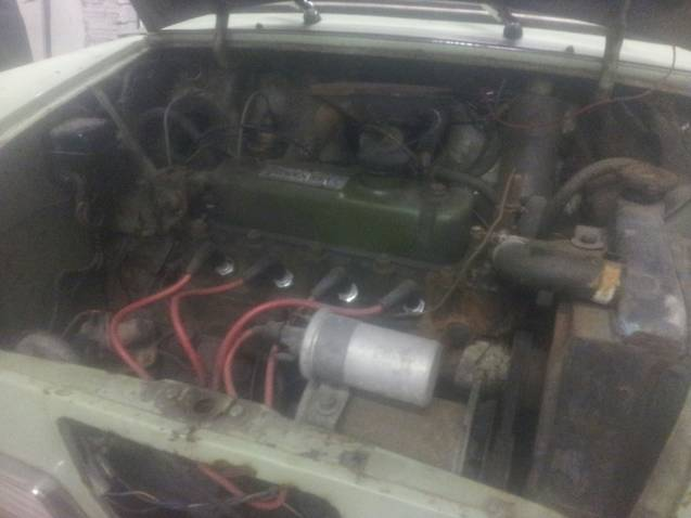 1969 hornet mk3 project  Engine-1