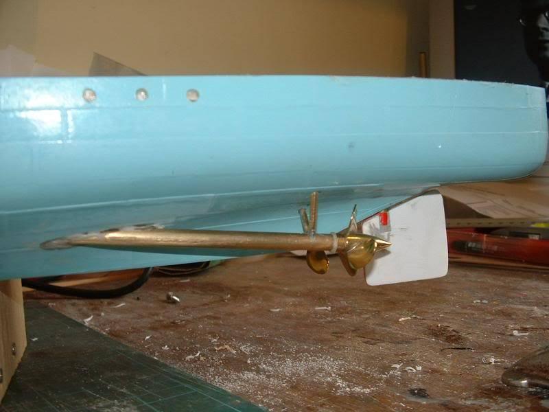 Deans HMS Amethyst build DSCF0256