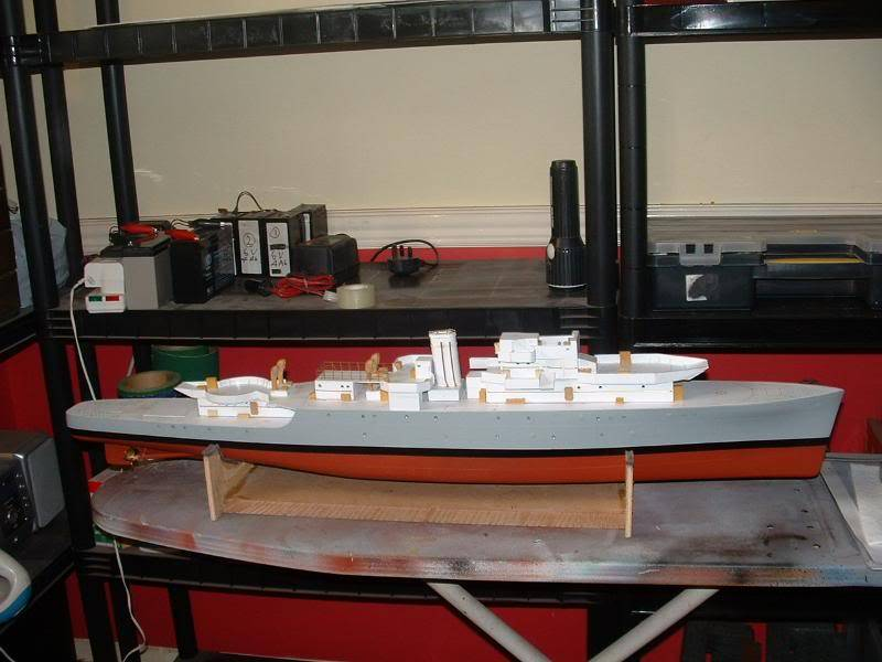 Deans HMS Amethyst build DSCF0257