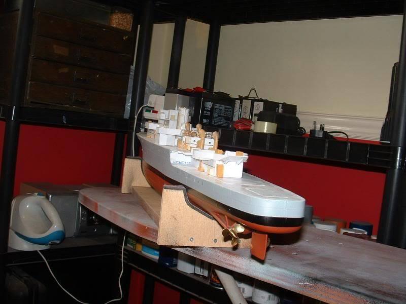 Deans HMS Amethyst build DSCF0259