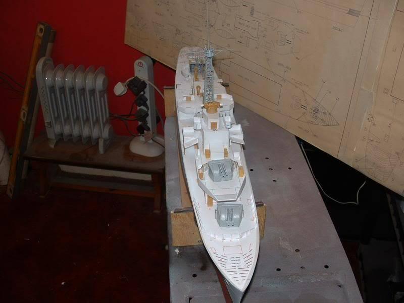 Deans HMS Amethyst build DSCF0262
