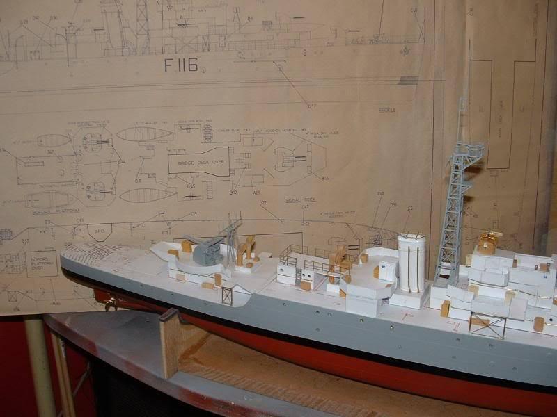 Deans HMS Amethyst build DSCF0264