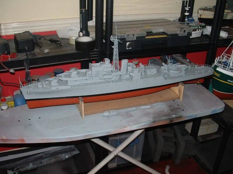 Deans HMS Amethyst build DSCF0266