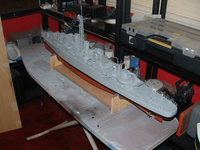 Deans HMS Amethyst build DSCF0267