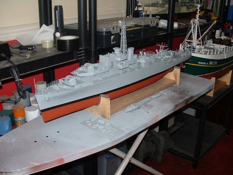 Deans HMS Amethyst build DSCF0268
