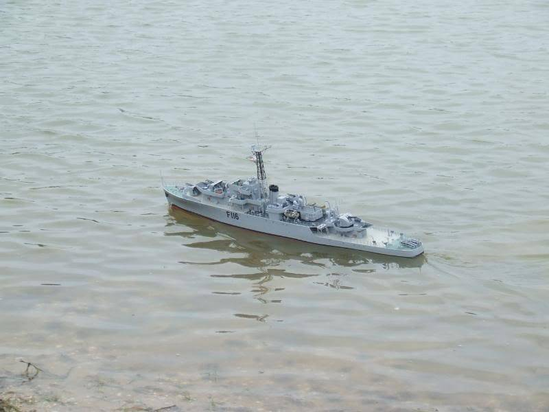 Deans HMS Amethyst build DSCF2677