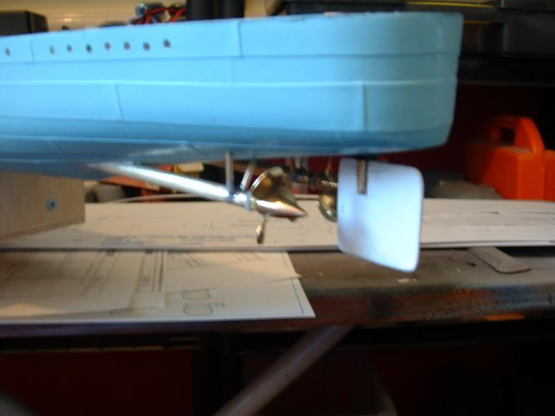 Deans HMS Javelin build DSCF0297