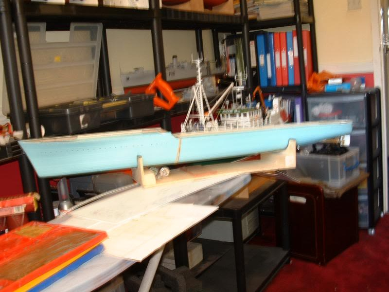 Deans HMS Javelin build DSCF0302