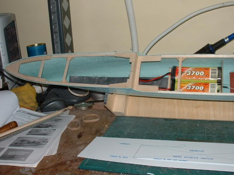 Deans HMS Javelin build DSCF0315