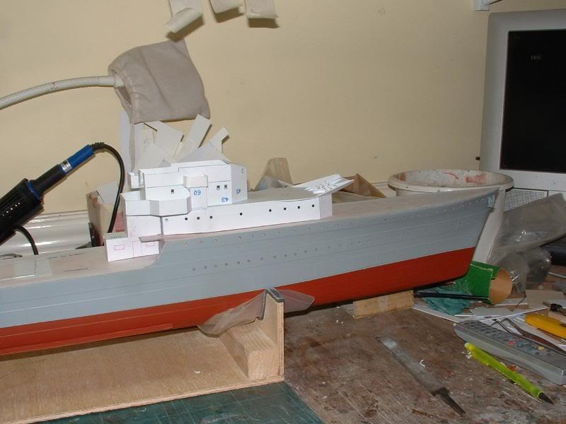 Deans HMS Javelin build DSCF0317