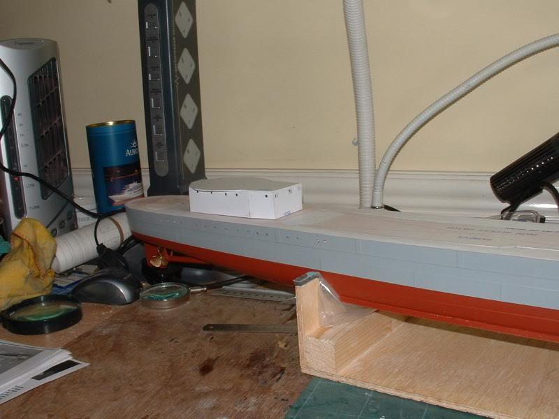 Deans HMS Javelin build DSCF0319