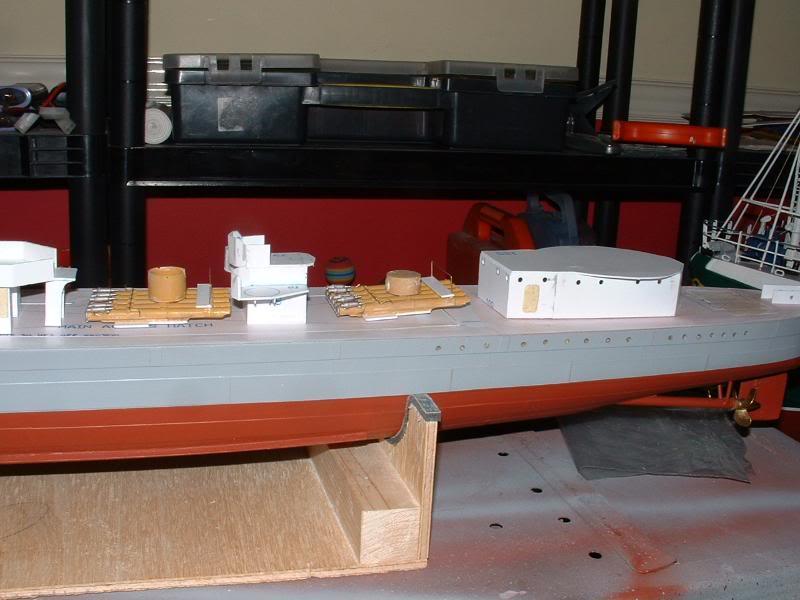 Deans HMS Javelin build DSCF0325