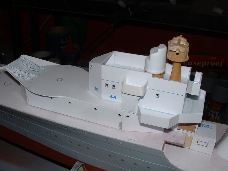 Deans HMS Javelin build DSCF0328