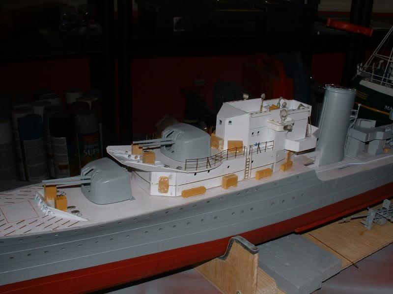 Deans HMS Javelin build DSCF0337