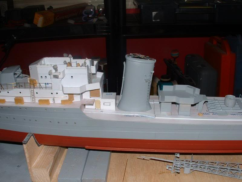 Deans HMS Javelin build DSCF0338