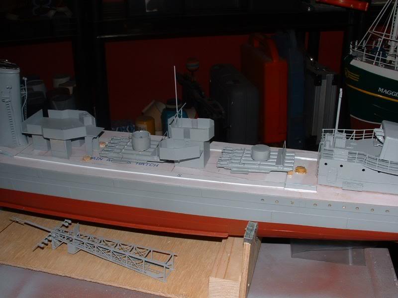 Deans HMS Javelin build DSCF0339