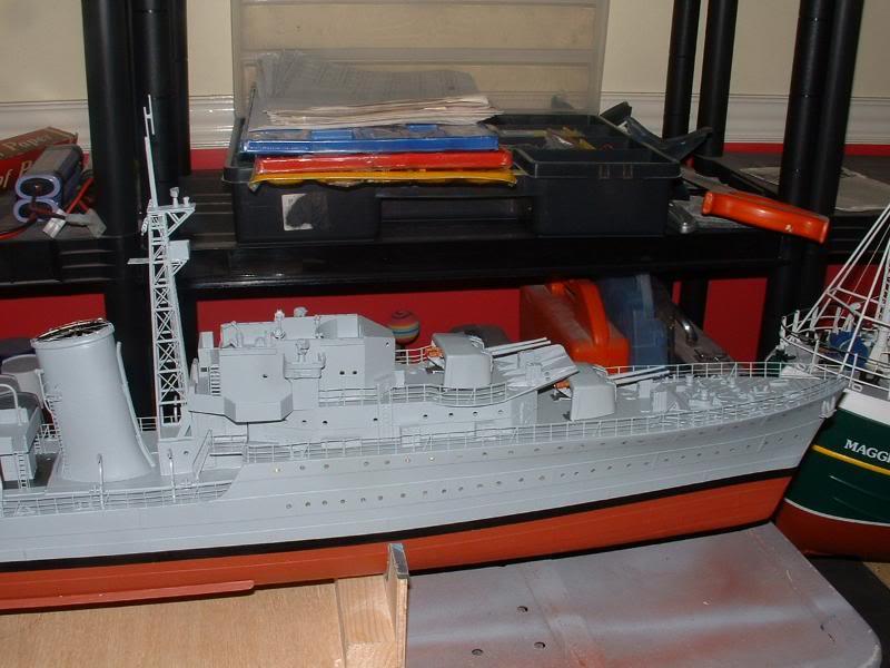 Deans HMS Javelin build DSCF0342