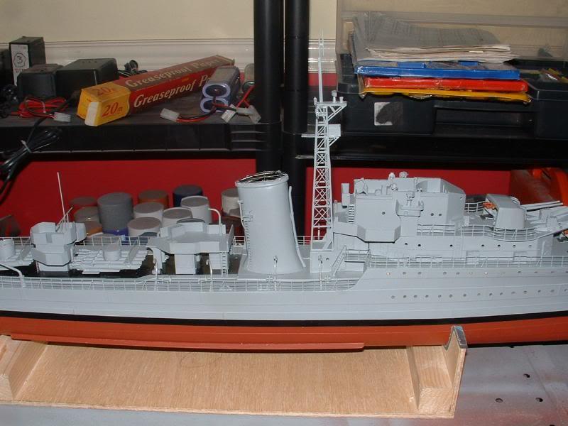 Deans HMS Javelin build DSCF0343
