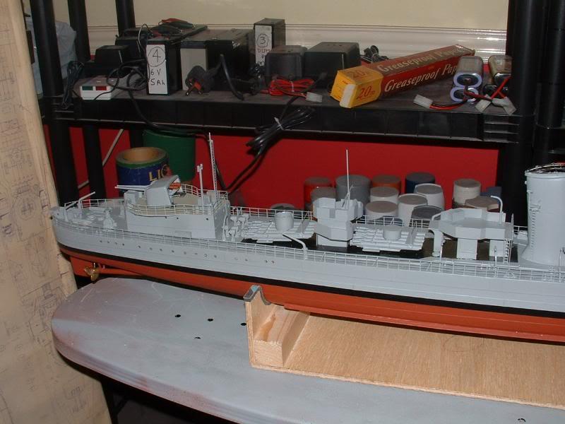 Deans HMS Javelin build DSCF0344