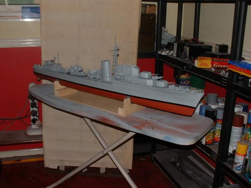 Deans HMS Javelin build DSCF0345