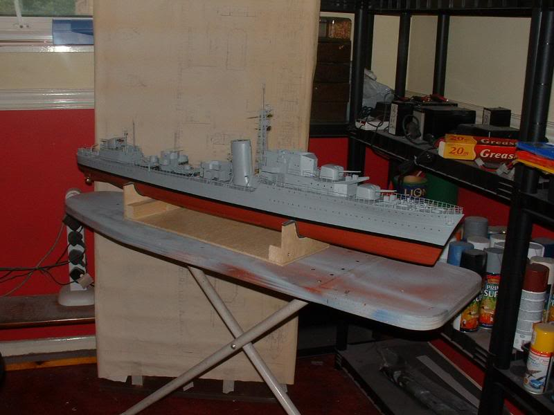 Deans HMS Javelin build DSCF0346
