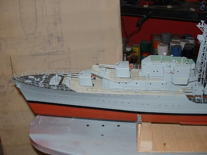 Deans HMS Javelin build DSCF0347