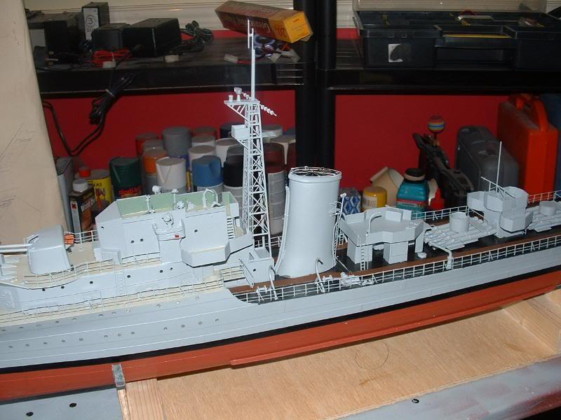 Deans HMS Javelin build DSCF0348