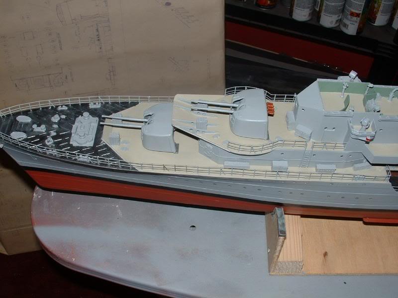 Deans HMS Javelin build DSCF0350