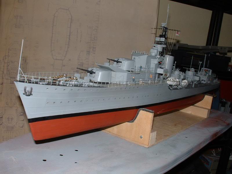 Deans HMS Javelin build DSCF0355