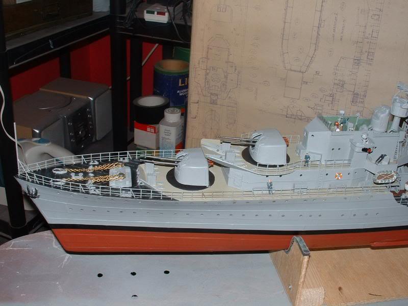 Deans HMS Javelin build DSCF0356