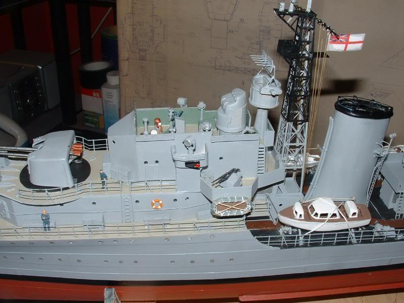 Deans HMS Javelin build DSCF0357