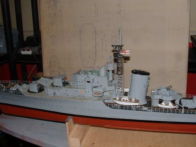 Deans HMS Javelin build DSCF0362