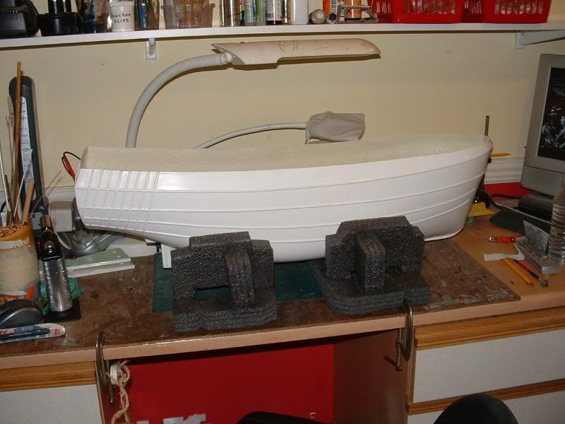 Model Slipway's Maggie M Build DSCF0169