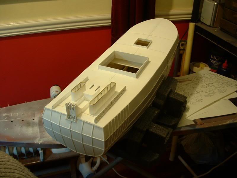 Model Slipway's Maggie M Build DSCF0207