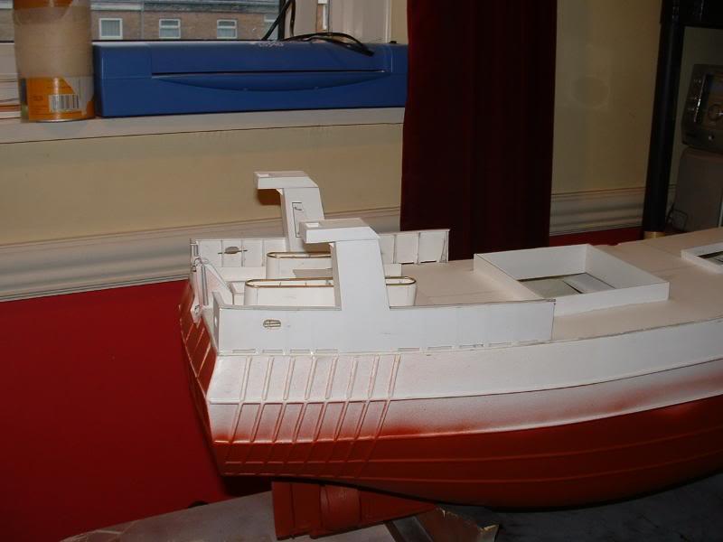 Model Slipway's Maggie M Build DSCF0213